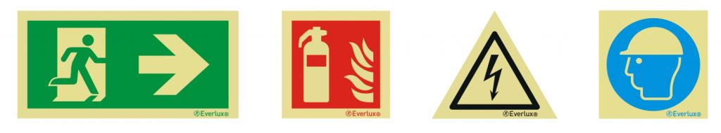 Everlux Safety Signs
